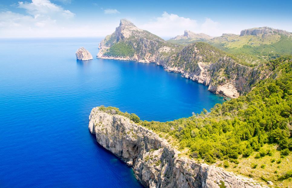 Formentor Mallorca Küste Meer Insel Berge Ballearen