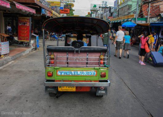 Eindrücke nach der Ankunft in Bangkok in der Khao San Road