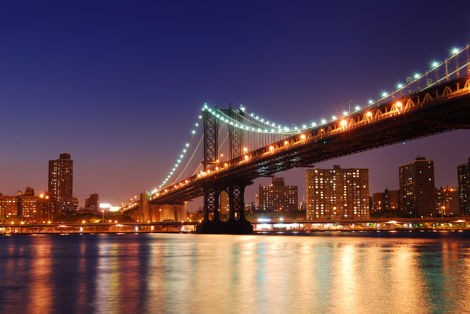 Manhattan Bridge New York USA Amerika