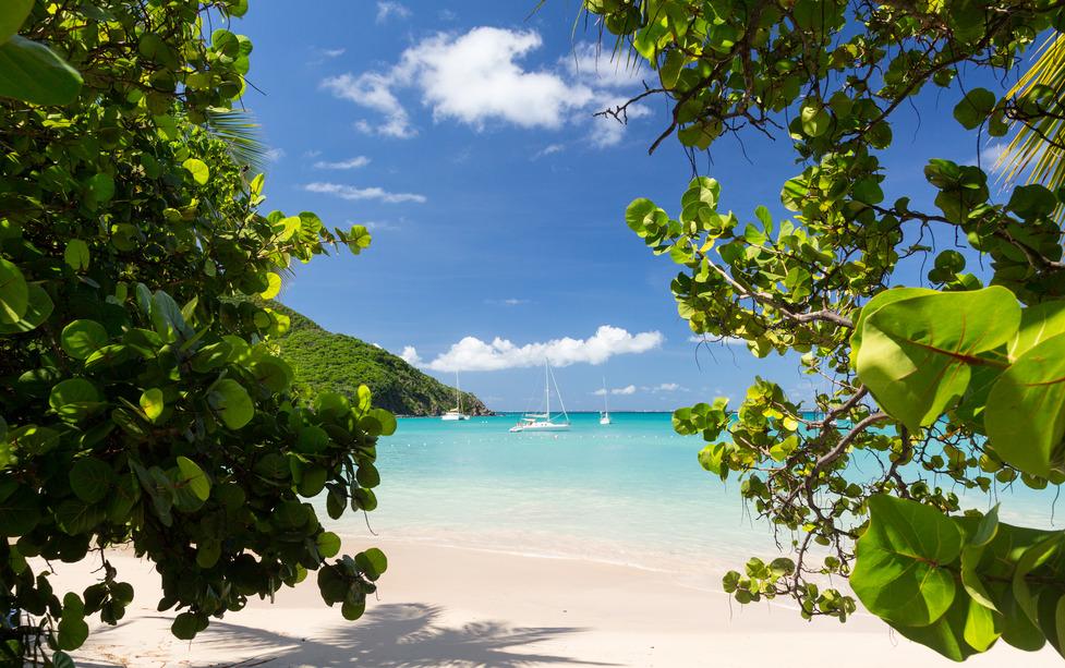 Strand Karibik Saint Marteen Sint Marteen Meer