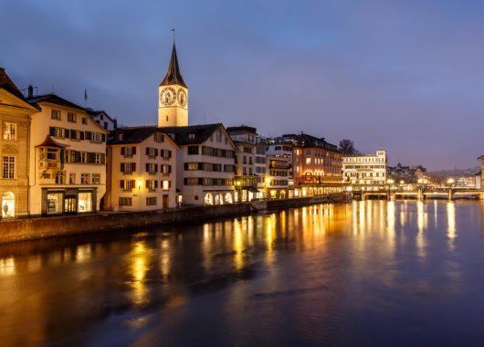 Städtetrip: 4 Tage Zürich ins neu eröffnete 3 Sterne Hotel + Flug ab 185,50€ pro Person
