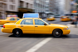 New York USA Taxi Cab