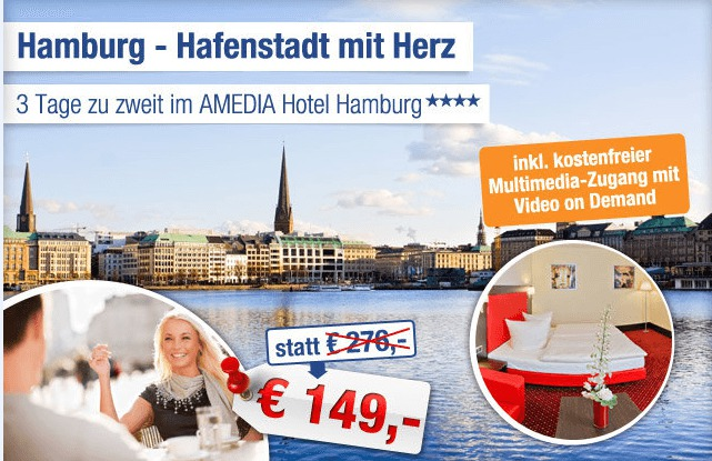 Hotelgutschein in Hamburg