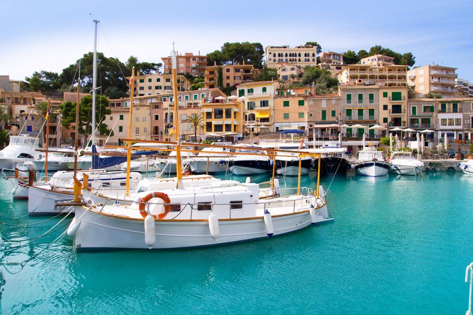 Mallorca Hafen Schiff Boot Insel Ballearen Ibiza Menorca