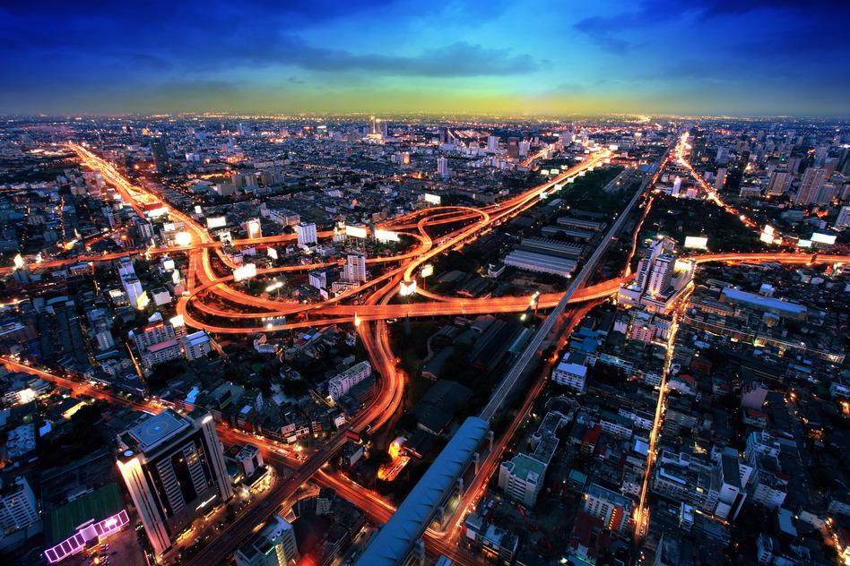 Bangkok Thailand Asien Stadt