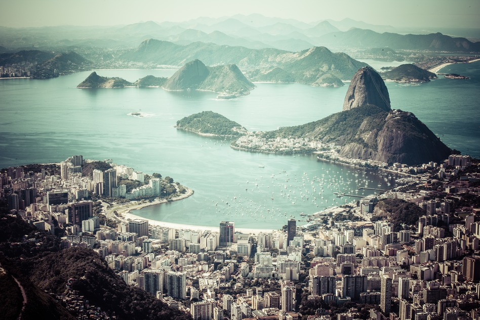 Rio de Janeiro Brasilien Zuckerhut