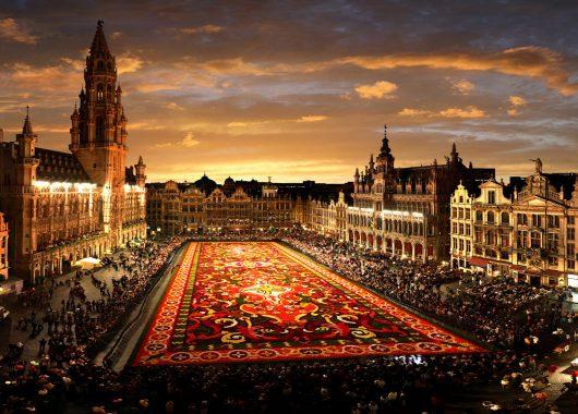 Städtetrip Brüssel: 3 Tage im 5*Hotel mit Frühstück und Flügen ab Berlin für 172€ p.P.