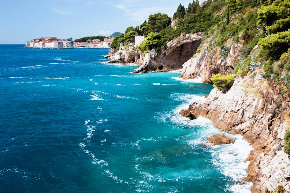 kroatien küste meer