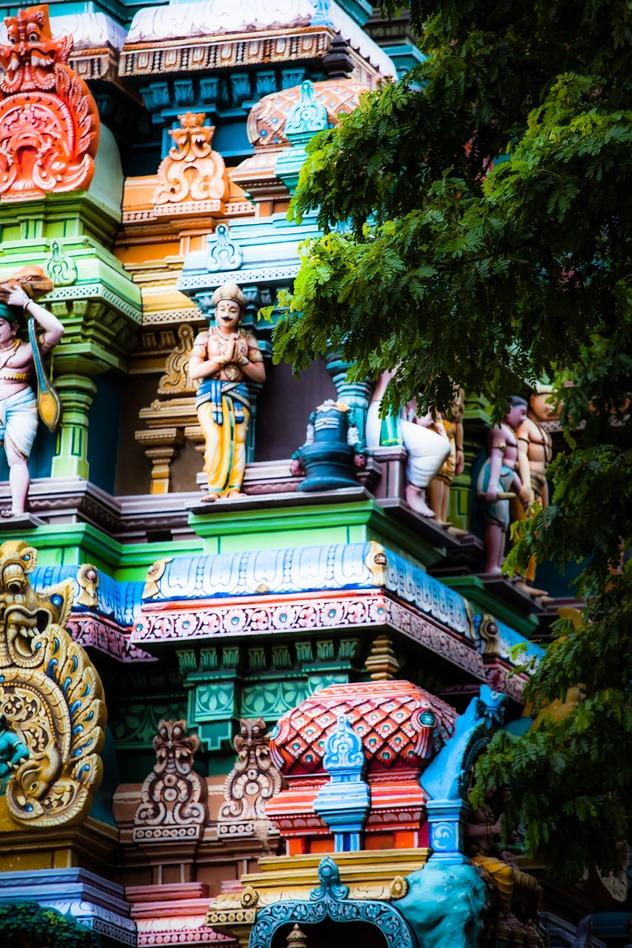Meenakshi Tempel Indien Mumbai