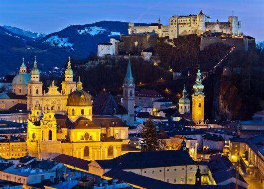 3 Tage Salzburg im zentralen 4* Hotel inkl. Frühstück ab 65€