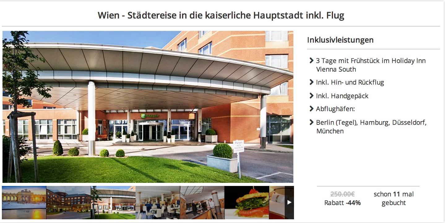 St dtereise 3 tage wien im sehr guten 4 hotel ab 139 for Stadtereise hamburg