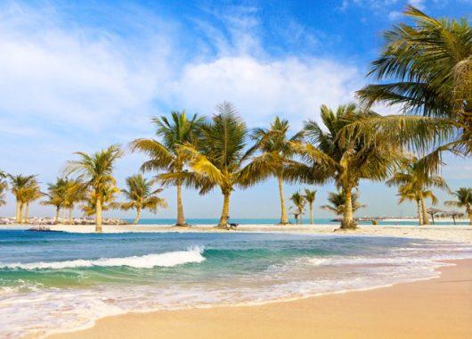 6 Tage Strand in Abu Dhabi im 5*Hotel mit Flügen, Deluxe Zimmer, Frühstück und Transfers ab 533€
