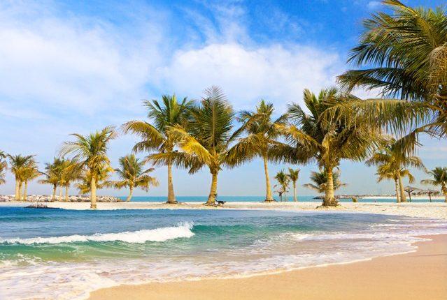Singlereise nach Ras al Khaimah: 1 Sommer-Woche im 4,5* Hotel mit Frühstück, Flug, Transfer und Rail&Fly ab 488€