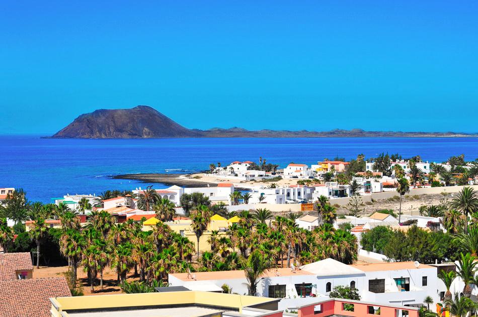 Fuerteventura Ort/Meer/Berge
