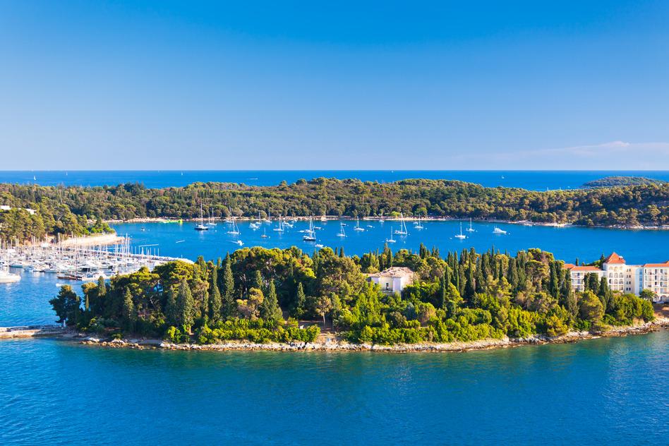 Kroatien Insel Verudela Istrien