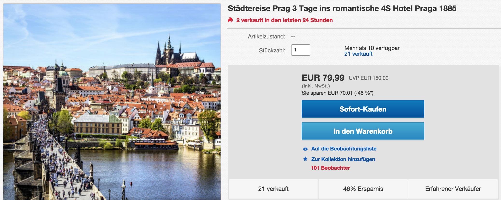 Prag-Kurzreise