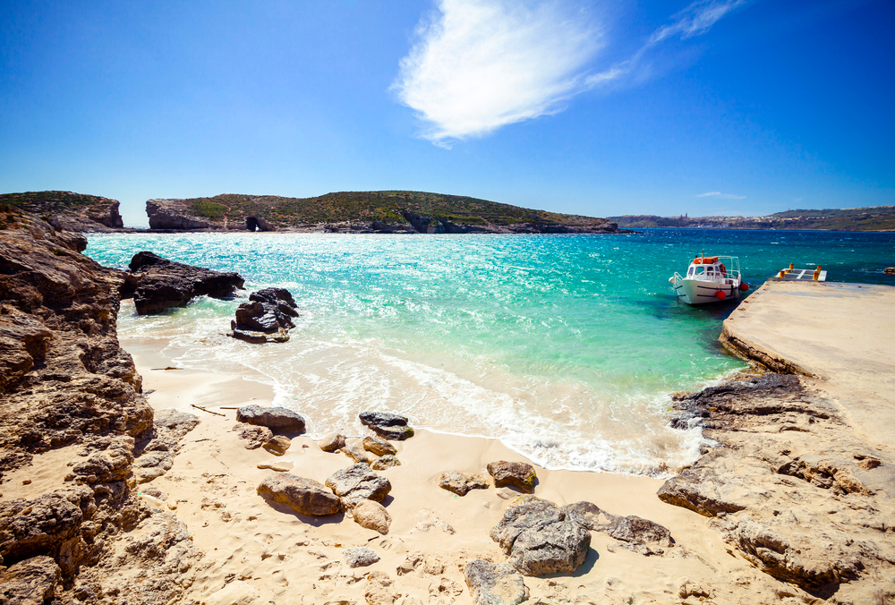 Blue lagoon Blaue Lagune Malta