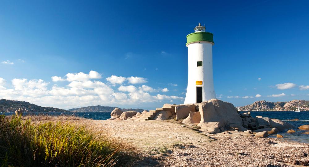 Palau Leuchtturm Sardinien Italien