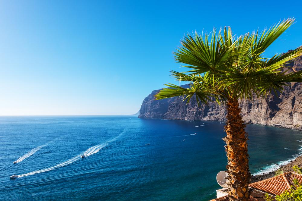 Los Gigantes cliffs Teneriffa Kanaren
