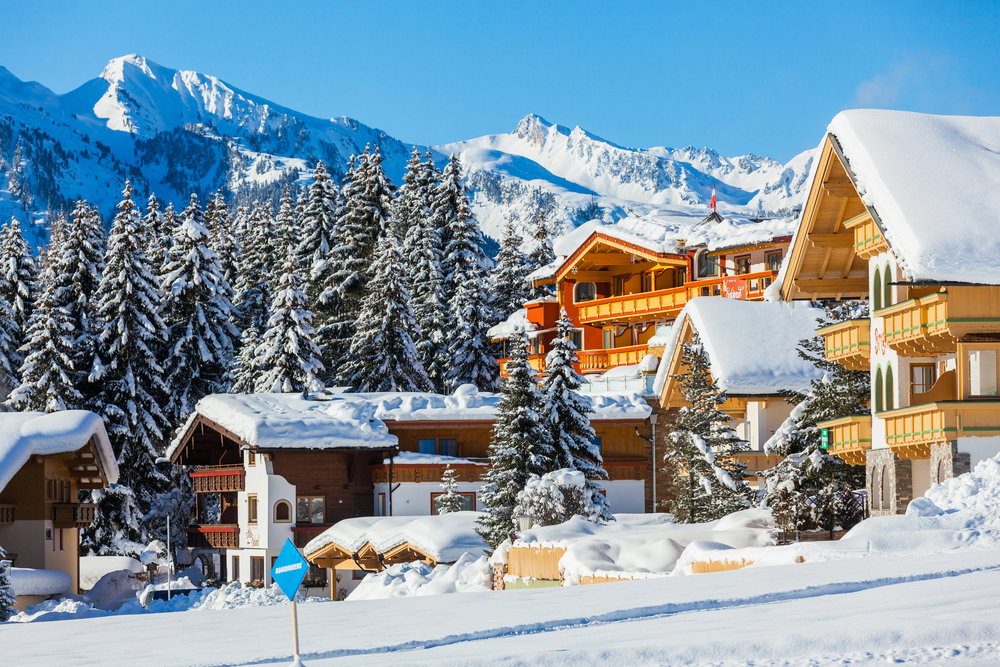 Tirol Schweiz Berge Schnee Ski