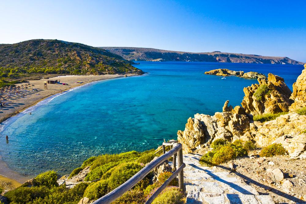 Vai Strand Kreta Griechenland