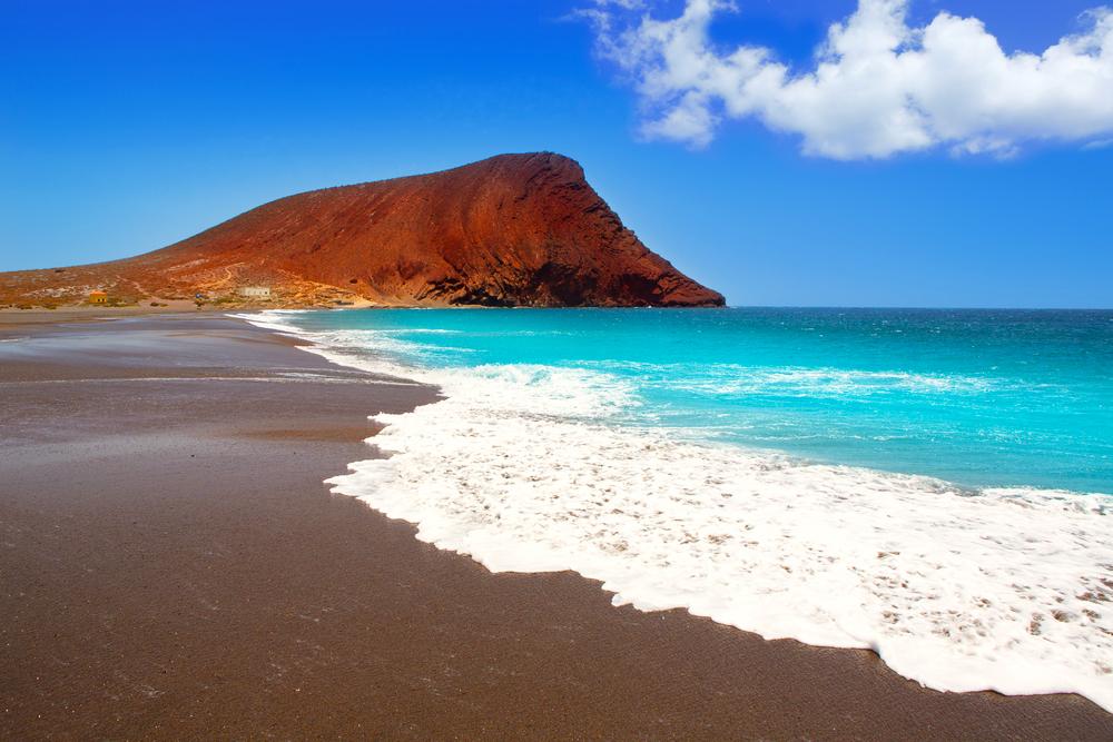 Playa de la Tejita Teneriffa Kanaren