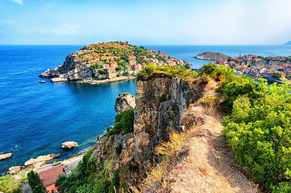 Türkei Küste Schwarzes Meer