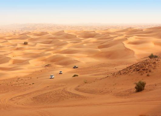 Februar: 6 Tage im 5* Luxushotel in den arabischen Emiraten inkl. Flug und Zug zum Flug ab 517€