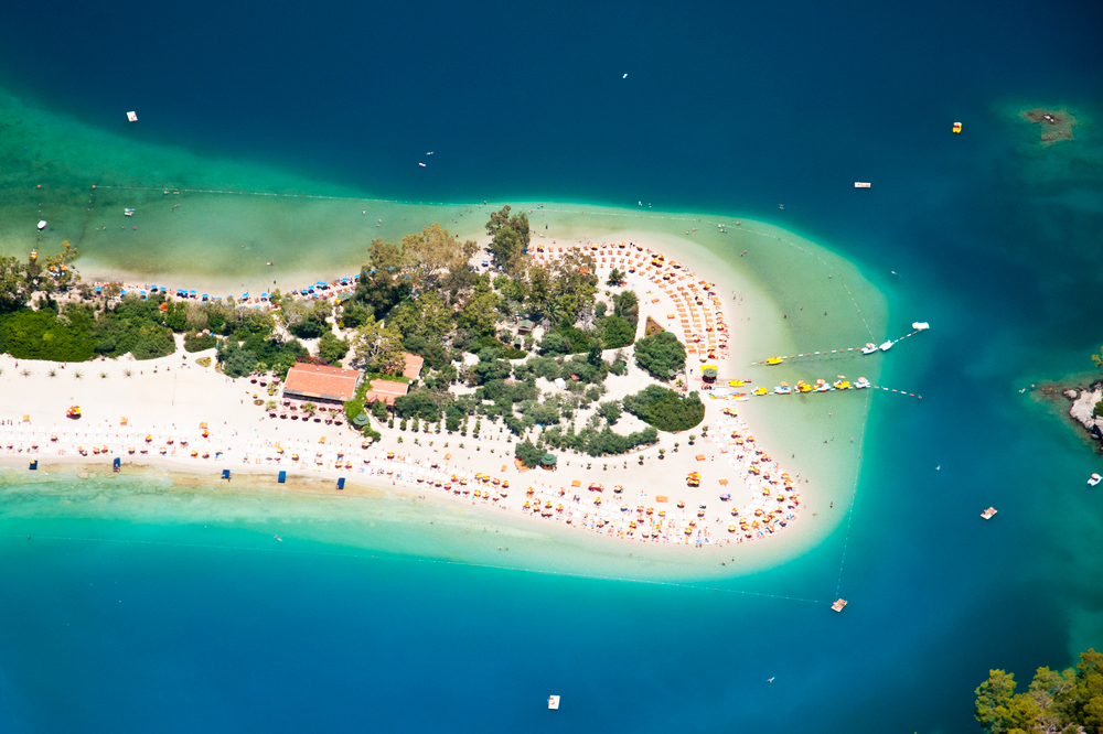Türkei Strand Oludeniz Fethiye