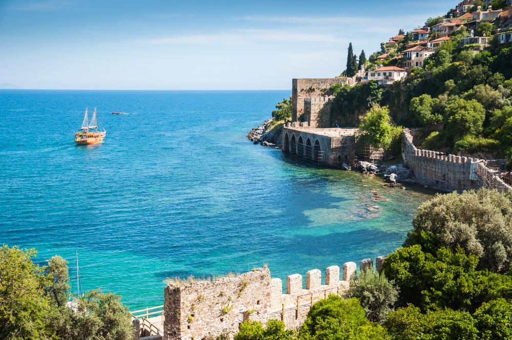 Türkei Küste Alanya