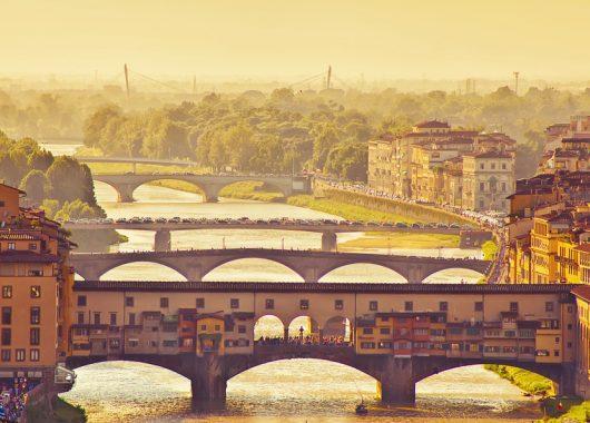 3 Tage Bella Italia: Florenz im 4* Hotel inklusive Frühstück ab 77€