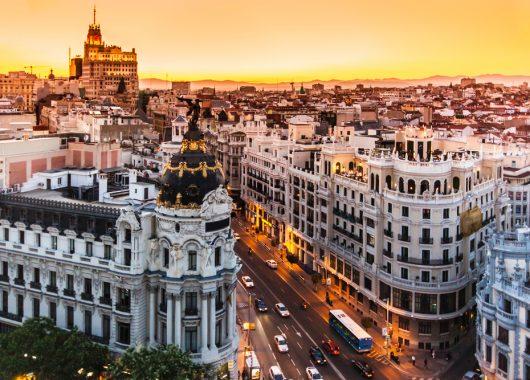 3 Tage Madrid im 3* Hotel mit Flug ab 93€ pro Person