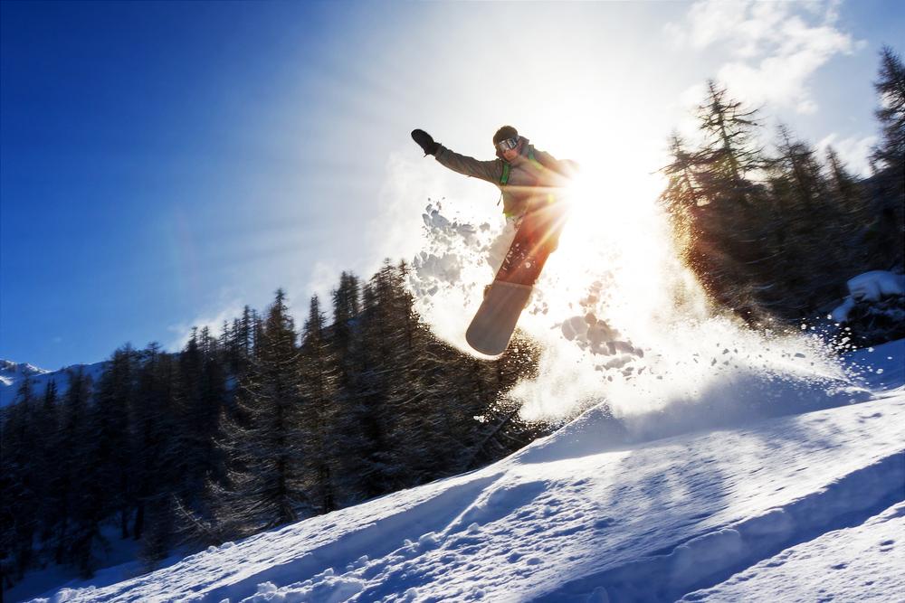Schnee Ski Snowboard Berge
