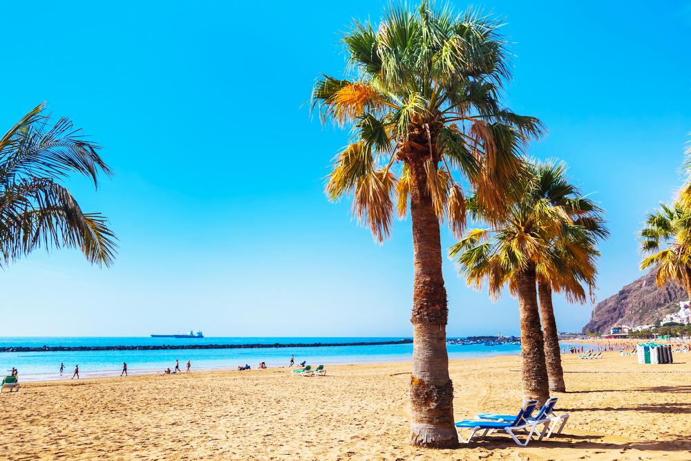 Teresitas Beach Strand Teneriffa Kanaren
