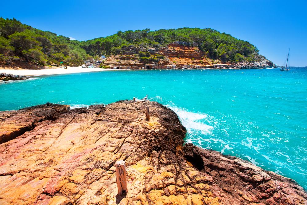 Ibiza cala Salada in san antonio Abad
