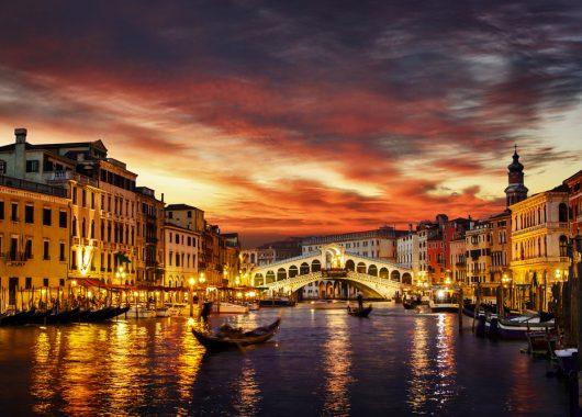 Venedig: 3 Tage im guten 4-Sterne Hotel inkl. Flug und Frühstück ab 139€