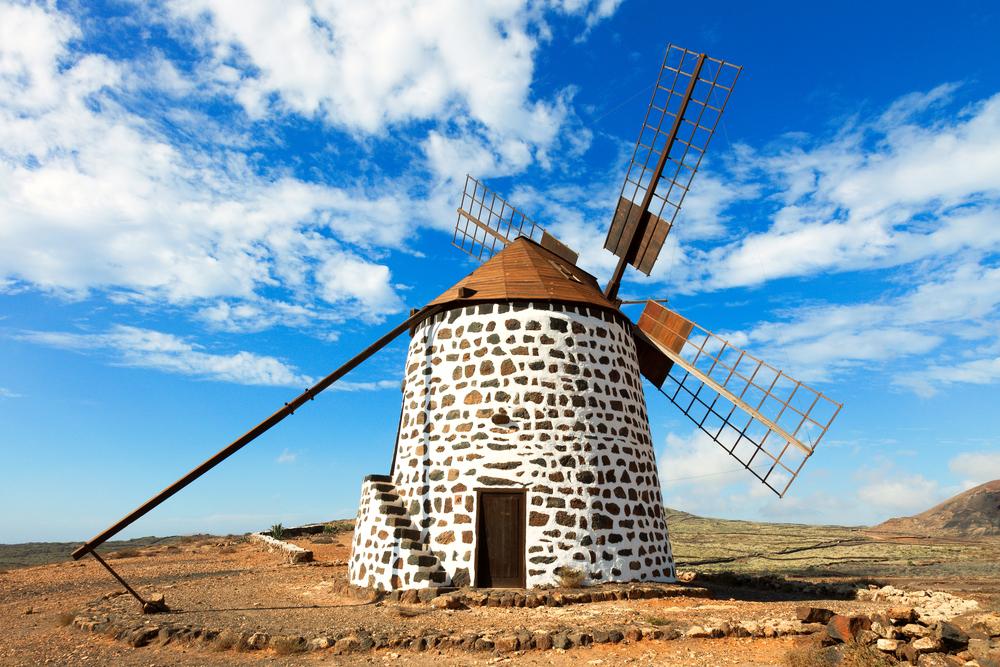 Windmühle Kanaren Teneriffa Gran Canaria La Gomera Lanzarote Fuerteventura