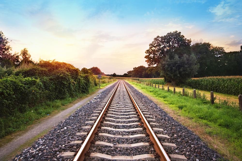 Bahn Eisenbahn Schienen Zug