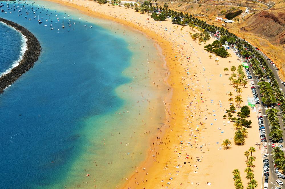 Teresitas Beach Teneriffa Kanaren