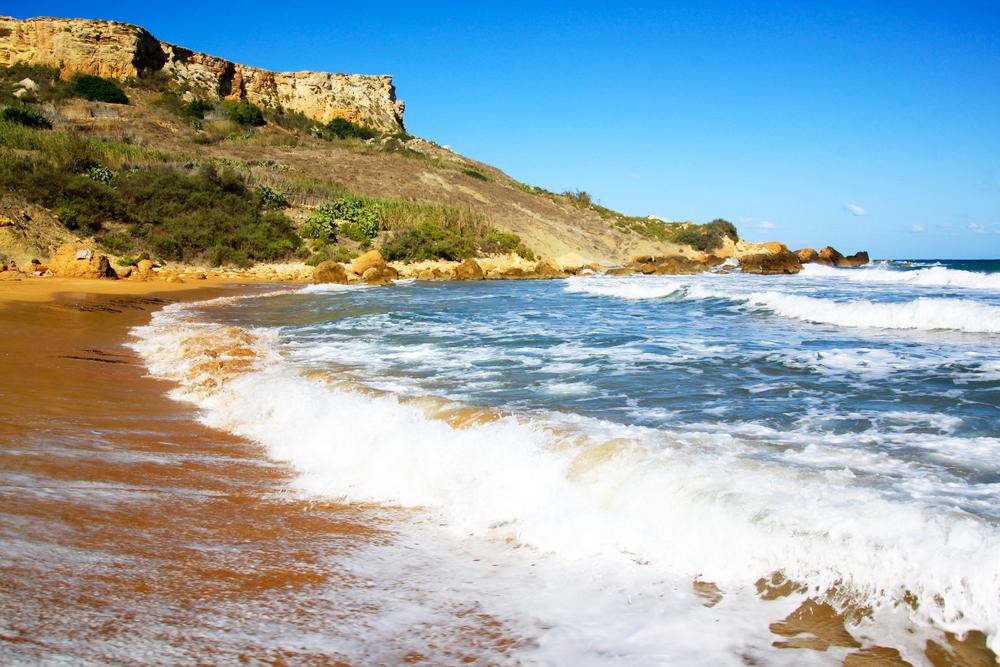 Malta San Blas Beach
