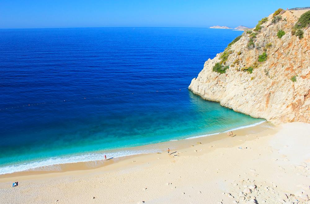 Türkei Strand Kaputas Beach Kas. Lycia