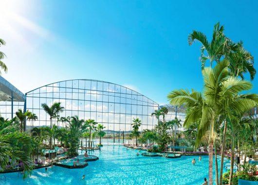 Tagesticket für die Badewelt Sinsheim inkl. Üb. im 4* Hotel mit Frühstück ab 69€ pro Person