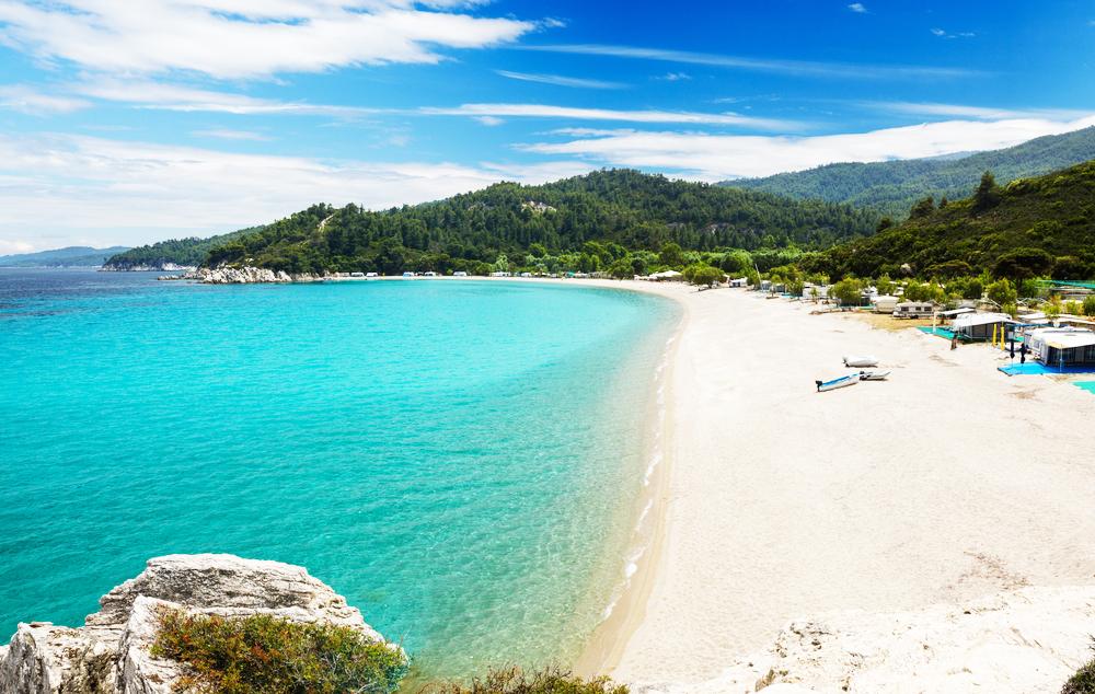 Armenistis beach Sithonia Chalkidiki Griechenland
