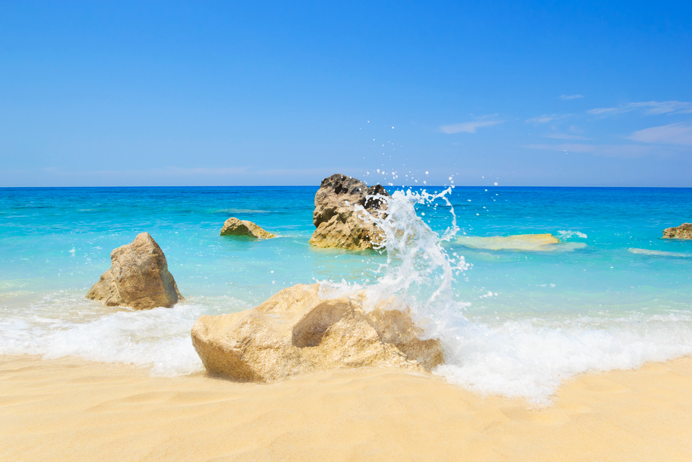 Griechenland Strand Chalkidiki Lefkada Kreta Rhodos Korfu