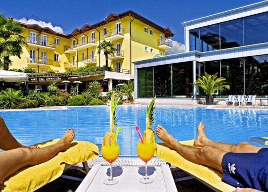 Kurzurlaub am Gardasee: 3 bis 8 Tage im 4* Villa Nicolli Romantic Resort inkl. SPA-Bereich ab 148€ pro Person