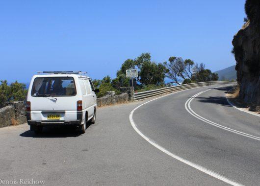 Reisebericht Australien: Unser Zuhause auf vier Rädern und jede Menge Wasserdampf