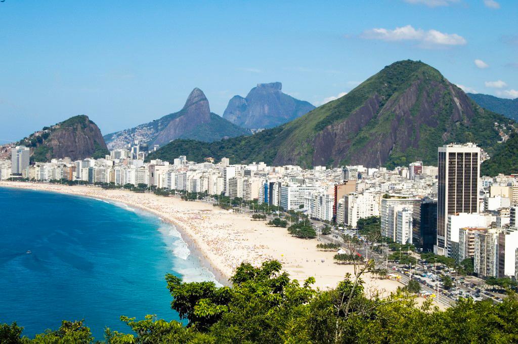 Brasilien Copacabana Rio de Janeiro