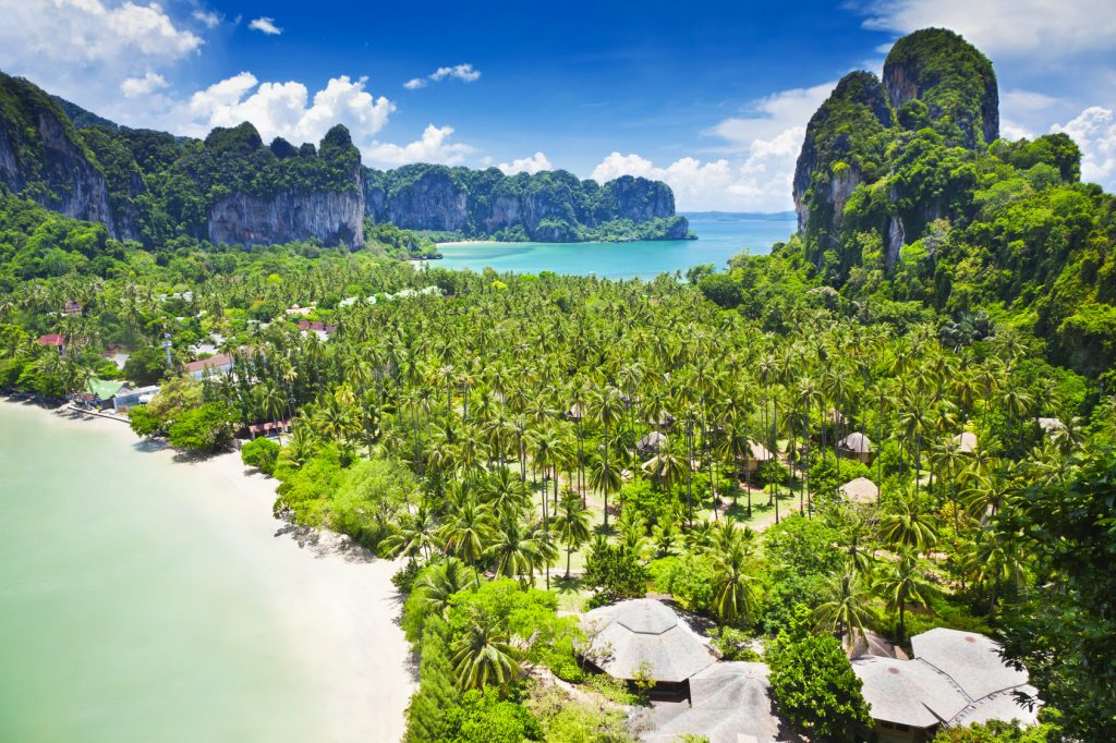 Thailand Railay bay Phuket Krabi