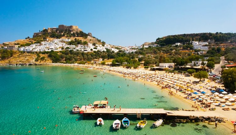 1 Woche Rhodos im 4* Hotel mit All In, Flug und Transfer ab 444€