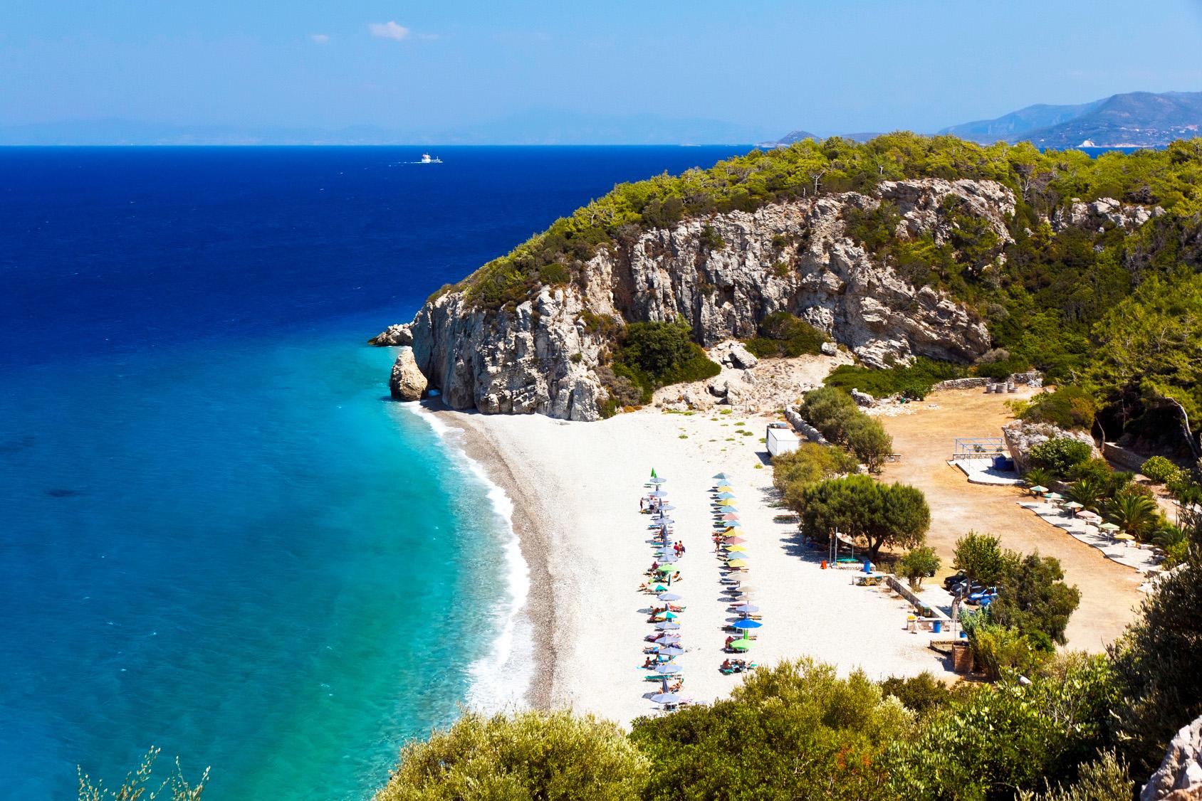 Samos Griechenland Tsambou beach